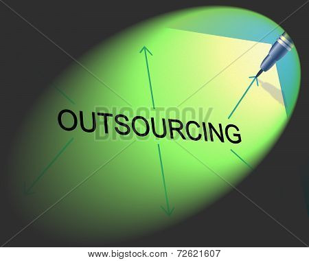 Outsourcing Outsource Means Independent Contractor And Freelance