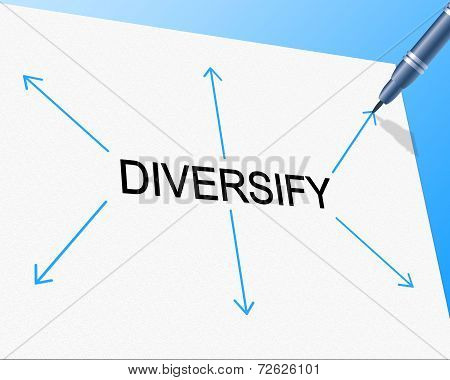 Diversity Diversify Represents Mixed Bag And Multi-cultural