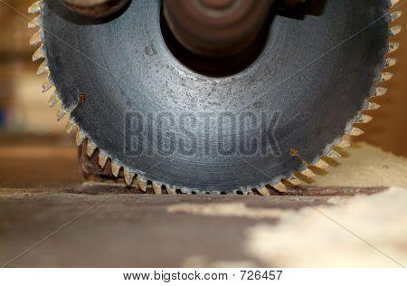 Detail of circular saw