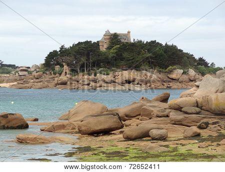 Castle Near Perros-guirec