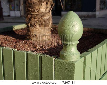 Decorative Palm Tree Box
