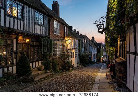 Cobblestone Streets In Sussex