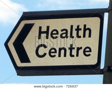 Sign.Health Centre.Access To Health Centre