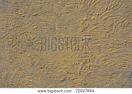 The Texture Of Beige And Lilac Walls Painted Large Erratic Strokes Of Pain