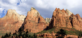 Court Of The Patriarchs, Zion National Park