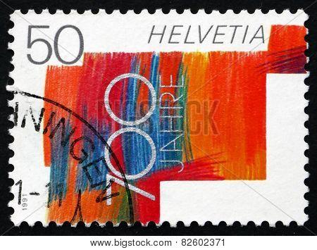Postage Stamp Switzerland 1991 Swiss Confederation, 700Th Annive