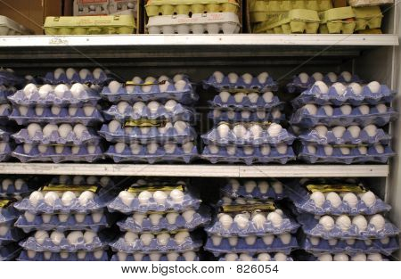 Eggs in Blue