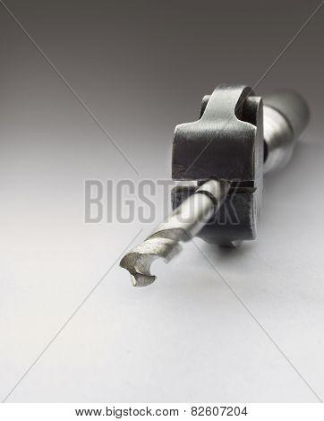 Borer In A Jeweler Clamp