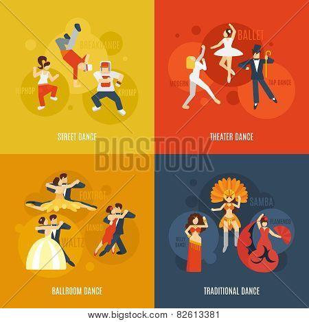 Dance Flat Set