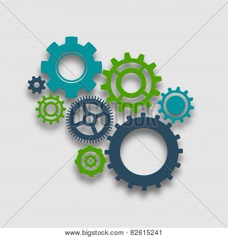 Cog Wheel Illustration