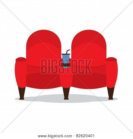 Cinema Seats For Lovers.