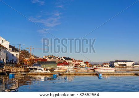Norwegian Port Characteristic Buildings