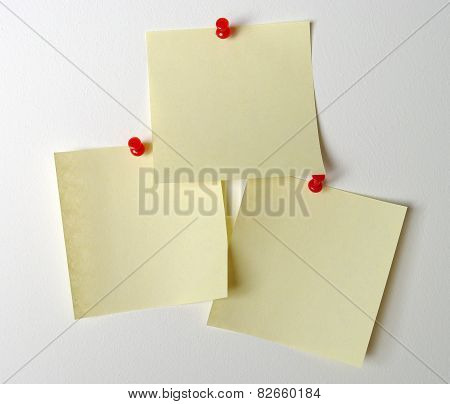stick note with clipping path