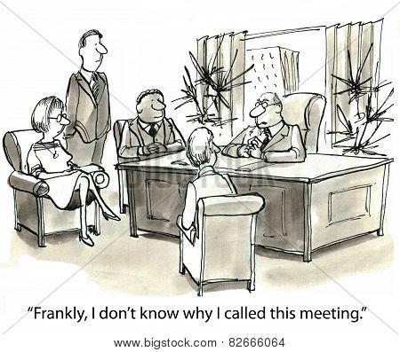 Too Many Meetings
