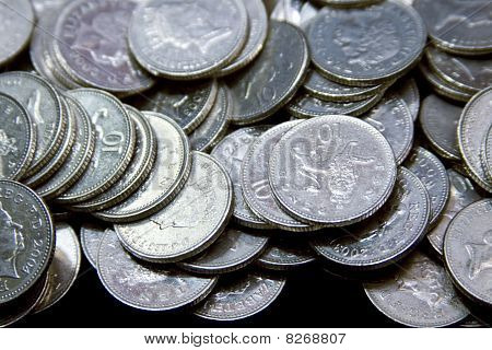 Silver British Coinage