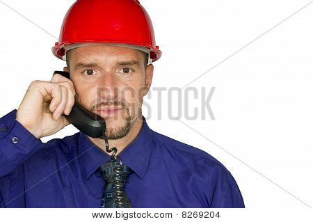 Manager at helmet and earphone