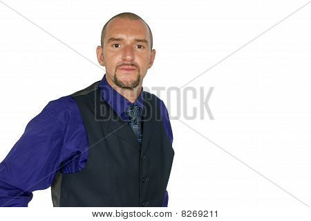 Portrait of manager