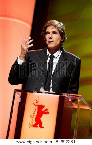 BERLIN, GERMANY - FEBRUARY 12: Walter Salles. Honorary Golden Bear for his lifetime achievement. 65th Berlin Film Festival at Berlinale Palace on February 12, 2015 in Berlin, Germany