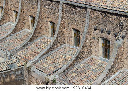 Church exterior detail.