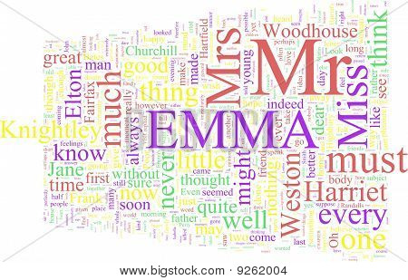 Word Cloud: Emma