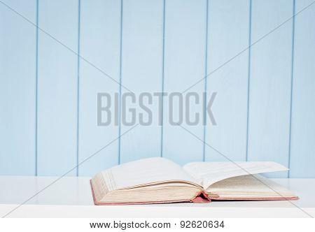 Open Antiquarian Book
