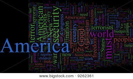Word Cloud: George W. Bush