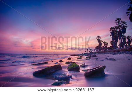 Ventura California Sunset Colors