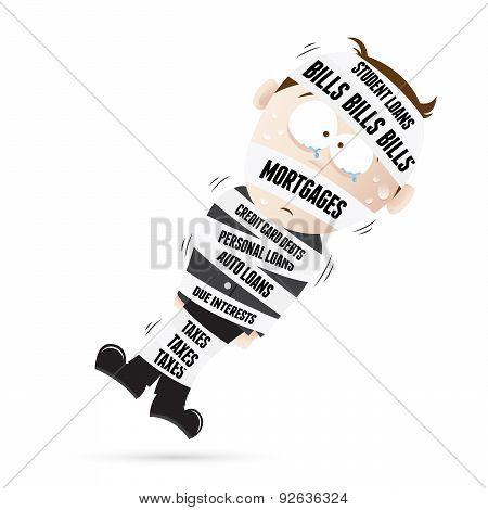 Mummified By Debts