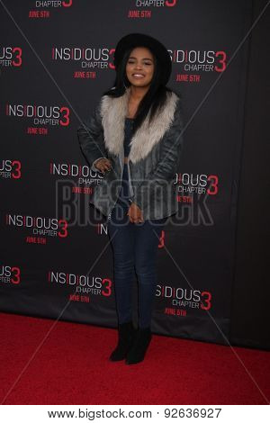 LOS ANGELES - JUN 4:  China Anne McClain at the