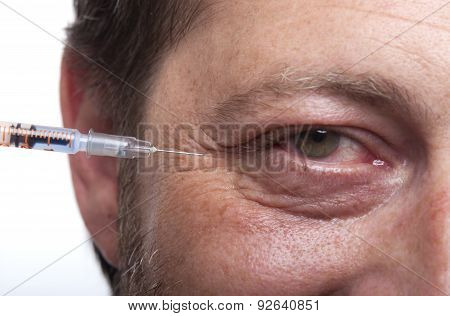 Man With Syringe