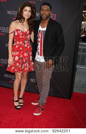 LOS ANGELES - JUN 4:  Tania Raymonde, Jocko Sims at the