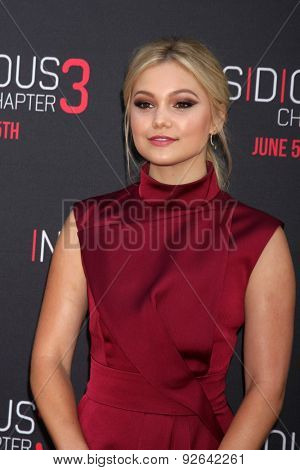 LOS ANGELES - JUN 4:  Olivia Holt at the
