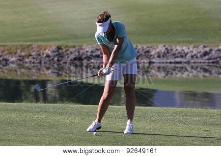 Gwladys Nocera At The Ana Inspiration Golf Tournament 2015
