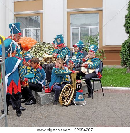 Bandmaster And His Brass Band