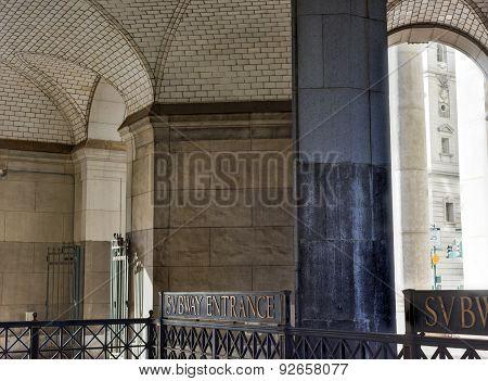 Guastavino Tile Ceiling - New York Municipal Building