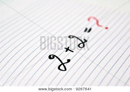 Mathematics. Education Problem