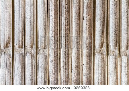 Taxture Of Bamboo Background.