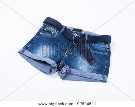 Shorts. Shorts On Background. Shorts On A Background.
