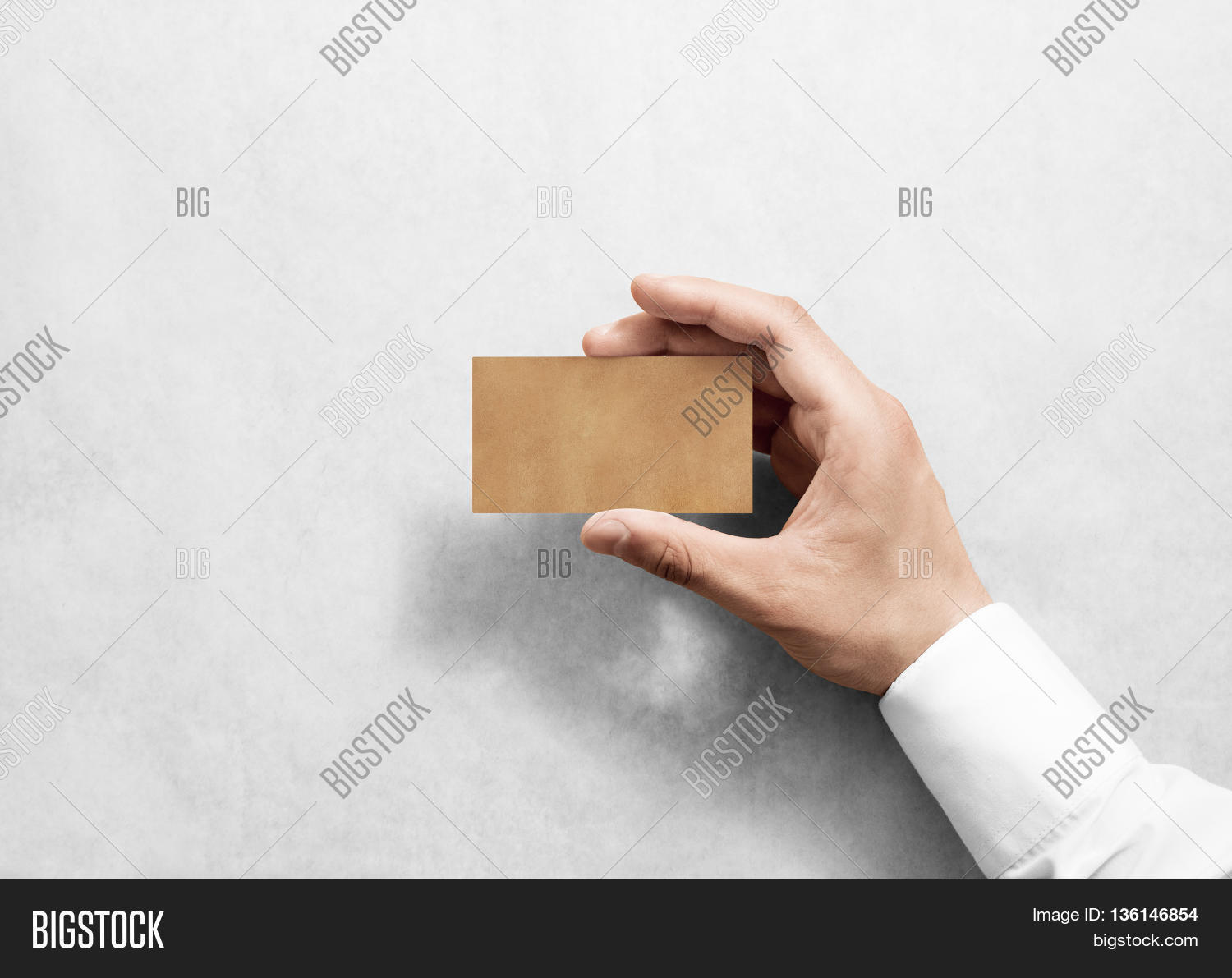 Hand Hold Blank Plain Craft Image & Photo | Bigstock
