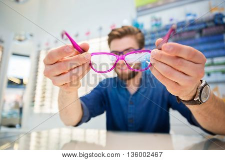 Looking Through Rosecoloured Spectacles