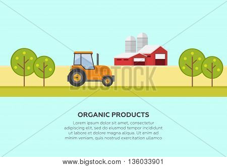 Farming and agriculture background vector illustration eps10