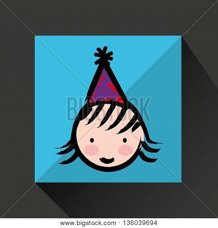 happy kids design, vector illustration eps10 graphic