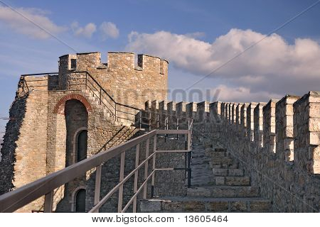 Watch Tower At Medieval Citadel
