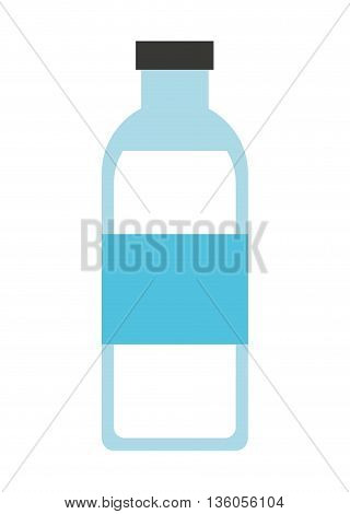 bottle water isolated icon design, vector illustration  graphic