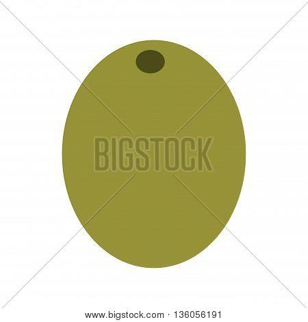 olive grain isolated icon design, vector illustration  graphic