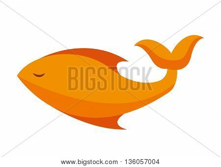 fish food isolated icon design, vector illustration  graphic