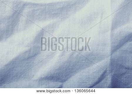 Natural fabric texture background with empty space.