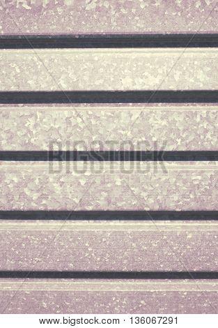 Metallic profile sheet as an industrial background.