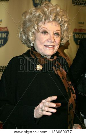 Phyllis Diller at the Celebrity Gala Opening For National Tour Of Movin' Out held at the Pantages Theatre in Hollywood, USA on September 17, 2004.