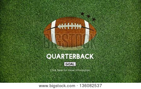 Quarterback Physical Education Rugby Sport Concept
